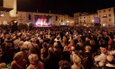La piazza di Castelnuovo Scrivia