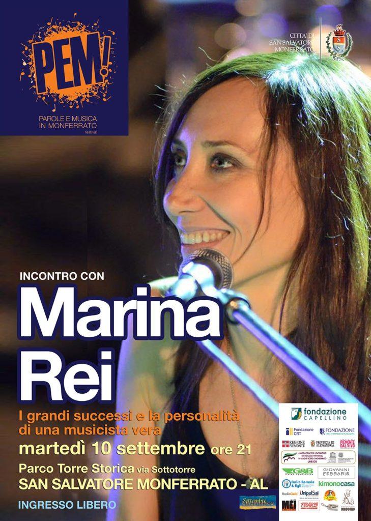 L'incontro con Marina Rei a San Salvatore Monferrato