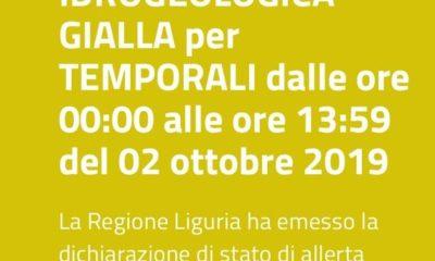 Allerta gialla: temporali previsti a Genova