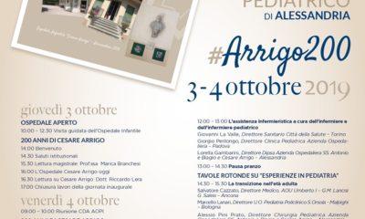 """Il programma di """"Arrigo200, in ricordo di """"Cesare Arrigo"""