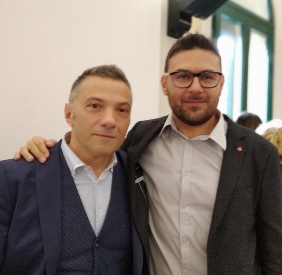 Fabio Favola e Stefano Isgrò