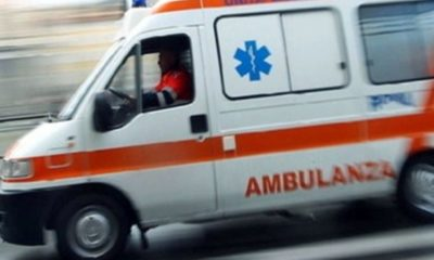Incidente Ambulanza: uomo caduto in bici