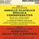 Presentazione annullo filatelico Emanuele di Bricherasio