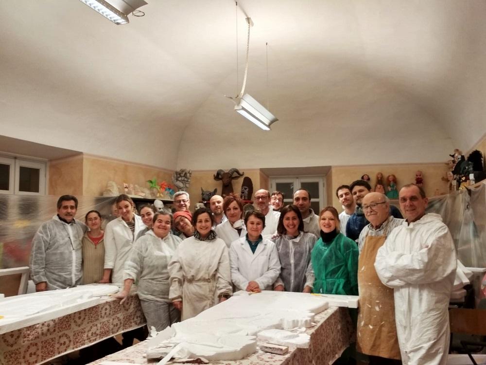 Il Primo Presepe Monumentale In Polistirolo Di Tortona