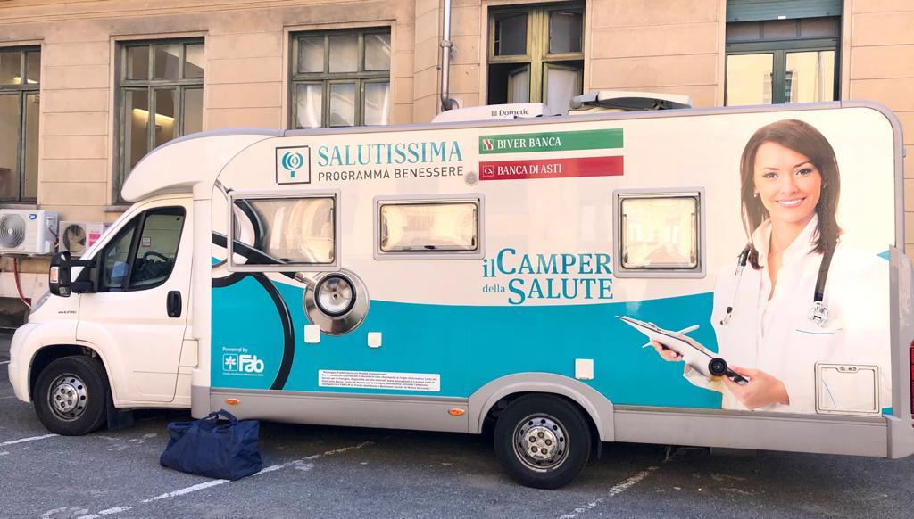 Torino Un Camper Per La Citta Della Salute Telecity News 24