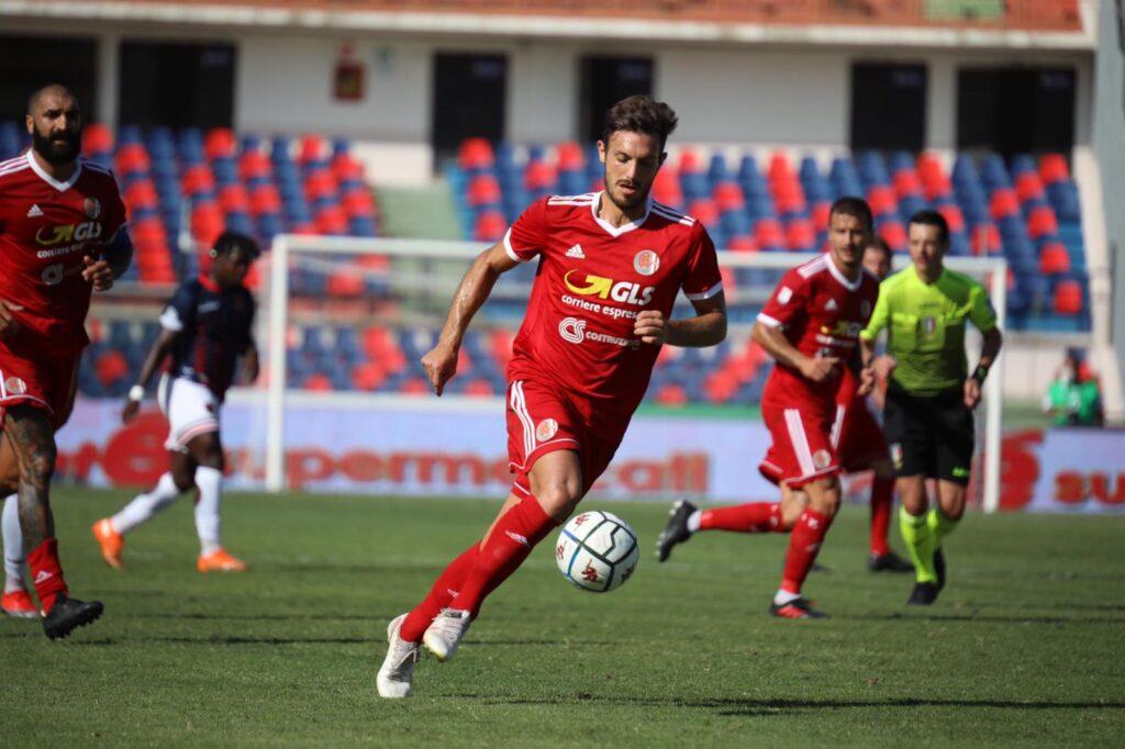 Alessandria Calcio in azione durante la sfida di Coppa Italia 2020/21 contro il Cosenza
