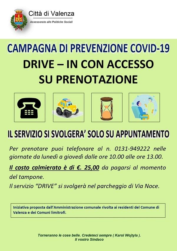 Campagna di Prevenzione Covid-19