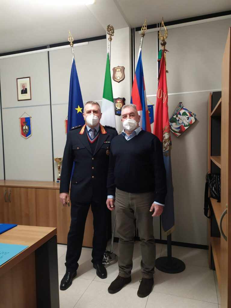 nuovo comandante polizia Valenza