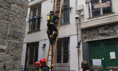 incendio abitazione genova