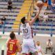 Fabi, giocatore del Derthona Basket, in azione durante Gara 1 del primo turno dei playoff di Serie A2 2020/21 contro Ravenna