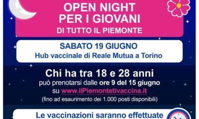 open night vaccini